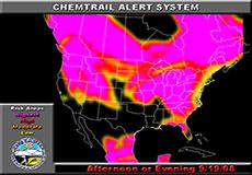 Chemtrail alert for September 19, 2008: America, Europe, Australia