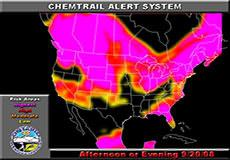 Chemtrail alert for September 20, 2008: America, Europe, Australia