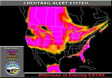 Chemtrail alert for September 21, 2008: America, Europe, Australia