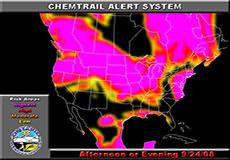 Chemtrail alert for September 24, 2008
