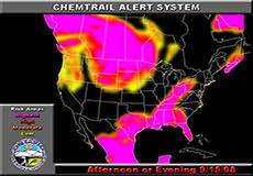 Chemtrail Alert for September 15, 2008