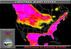 Chemtrail alert for September 16, 2008: America, Europe, Australia