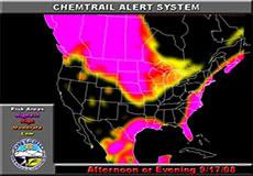 Chemtrail alert for September 17, 2008: America, Europe, Australia