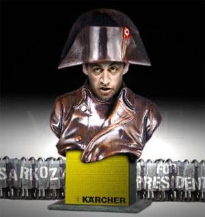 Sarkozy uses fake workers to look more popular