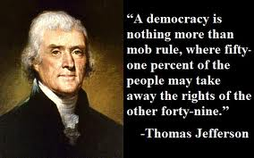 Democracy is immoral and always leads to tyranny