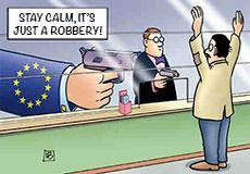 The EU Announces the Great European Bank Robbery