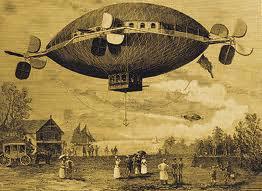 Mystery airship.