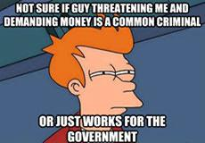 It Is Wrong To Work For Government