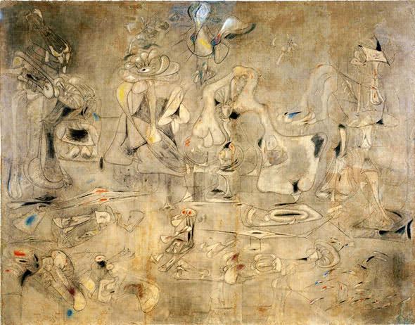 Arshile Gorky. Summation (1947).