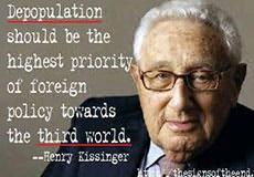 Depopulation of the Masses Has Begun