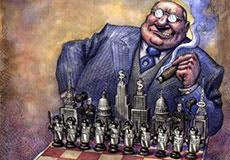 The Grand Chess Board of World War III