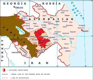 Please note that Azerbaijan is a buffer between Russia and Iran. This will prove to be a critically important area in the upcoming war because it could prevent Russia from defending against an invasion of Iran.