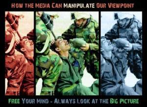 Manipulating the way an image is presented can totally change its meaning.