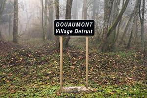 """Douaumont, Destroyed Village."""