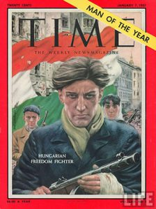 Man of the Year 1956: Hungarian Freedom Fighter.